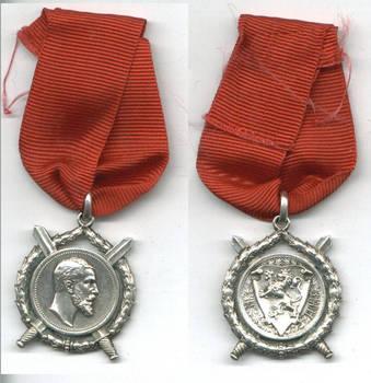 1880 Bulgaria Royal Batenberg Merit order 2 R