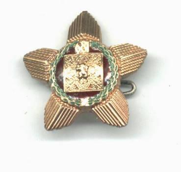1981 Bulgaria 1300 years gold star order mini