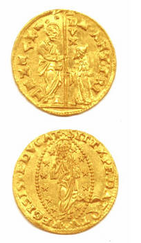 1553 Venice Gold coin Marcantonio TREVISAN RR
