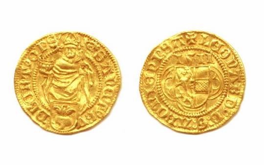 1511 Austria SALZBURG gold ducat coin UNC RRR