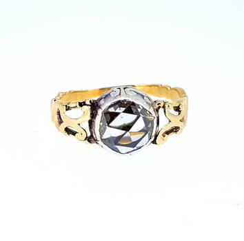 17th Century Renaissance Rose Diamond Ring