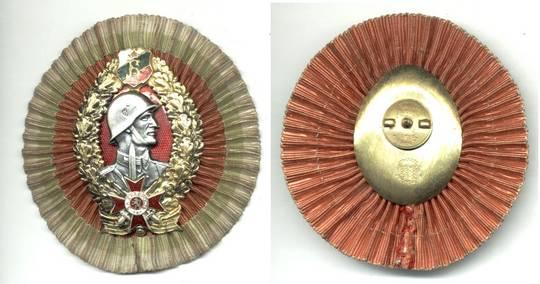 WWII Bulgaria NAZI General Merit badge RARE