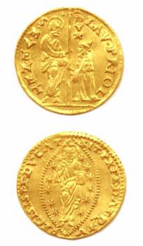 1556 Venice Gold ducat coin LORENZO PRIULI RR