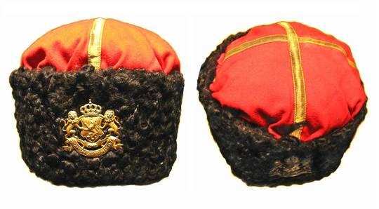 1880 Bulgaria Royal guard OFFICER hat cap RRR