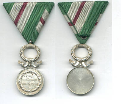 WWII Bulgaria Royal Lifesaving Regency medal