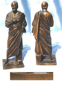 c1890 Neo-Grec BARBEDIENNE bronze sculpture R