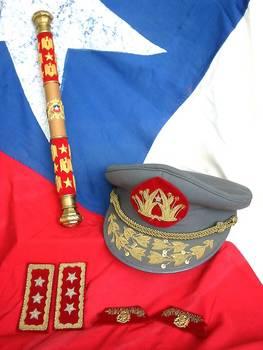 Chile Army Field Marshall Baton Sceptre RARE