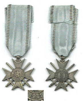 WWII Bulgaria Royal Bravery soldier order 4G
