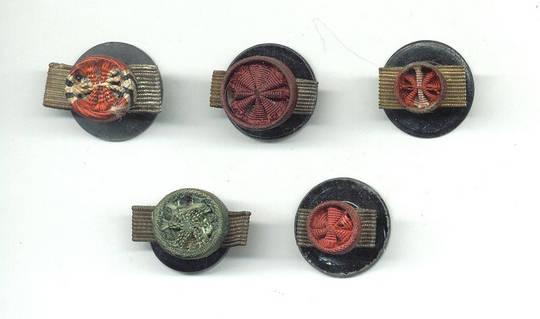 WWII NAZI Germany order rosette 5 mini button