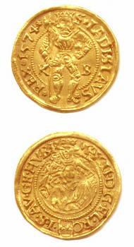 1574 Germany Kremnitz Gold Ducat coin MINT RR
