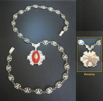 1980 Bulgaria Order of the Rose SILVER COLLAR