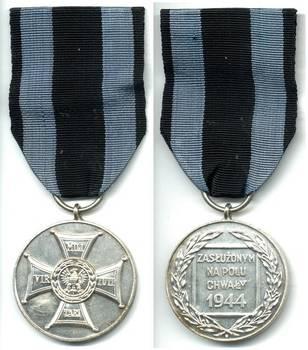 WWII Poland Virtuti Militari Glory AG medal
