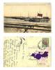1909 Bulgaria Royal torpedo fleet postcard RR