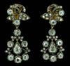1770 18th Century Girondelle Diamond Earrings