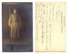 1913 Bulgarian soldier ready for war postcard