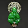 Art Deco MAUBOUSSIN Buddha diamond brooch RR