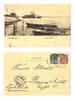 1901 Denmark Royal NAVY Fredericia postcard !