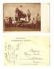 1911 Bulgaria Army equestrian horse postcard