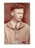 1930 US pilot ace Lindbergh photo postcard RR