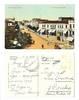 1911 Bulgaria Bourgas Main Street postcard R