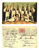 1907 Romania ethnic folk costumes postcard RR