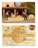 1912 Swiss Agriculture advertisement postcard