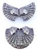 AUCOC Art Deco Double Clip Diamond Brooch