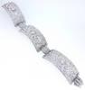 1930s Art Deco Sunrays 25ct. Diamond Bracelet