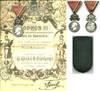 1920 Bulgaria Art & Science crown medal NAMED
