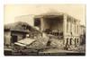 1928 Bulgaria Plovdiv earthquake postcard 1