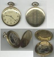1934 Swiss Switzerland CYMA gold watch MINT !