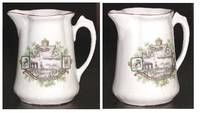 WWI Germany Royal pilot porcelain milk pot 1