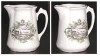 WWI Germany Royal pilot porcelain milk pot 2