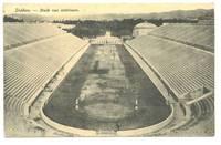 1904 Greece Olympic stadium photo postcard RR