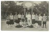 Old Bulgaria Royal Lady Basketball postcard 2