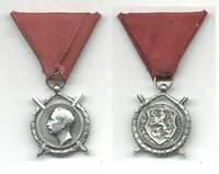 WWII Bulgaria Royal Merit SILVER order RR N7