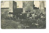 WWI Macedonia England postcard washing place