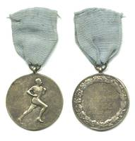 1951 Bulgaria SPORTS Marathon run medal RR 1