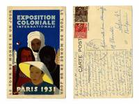 1931 France Colonial EXPO commercial postcard