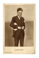 Vintage Movie Star Charlie Chaplin postcard R