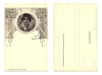 1900 Art Nouveau Secession SOKOL postcard RRR