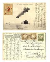 1908 Germany ZEPPELIN Esperanto postcard RARE