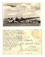 WWII Germany D2500 Hindenburg Air postcard RR