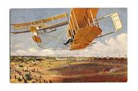 1920 Germany Artist color aviation postcard 1