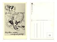 WWII NAZI Germany pilot propaganda postcard R