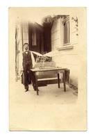 1912 Bulgaria aviation constructor postcard R