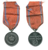 WWI Germany Baden 9y Military Service medal R