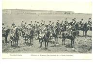 1900 Ottoman Turkey Royal Guard postcard RARE