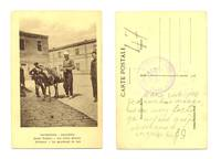 WWI Greek Macedonia ethnic Milkman postcard R