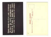 1920 England Grotesque theme postcard 1 RARE